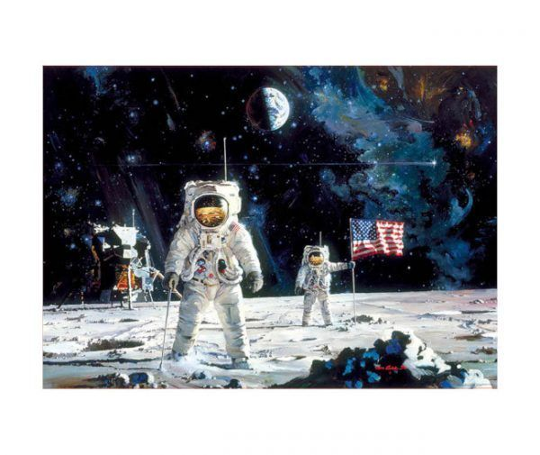 puzzle Educa First Men on the Moon