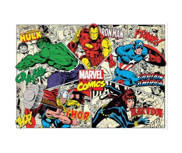 puzzle Educa Marvel Comics