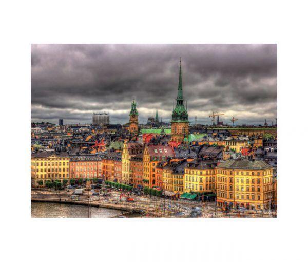 puzzle Educa Vistas de Estocolmo