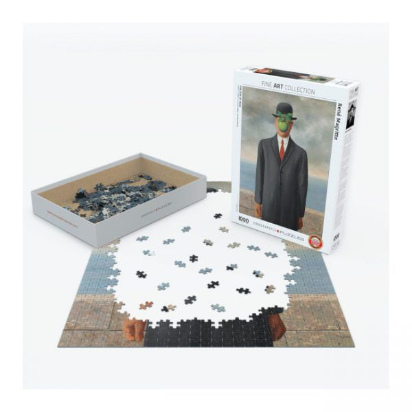 puzzle Son of Man de René Magritte