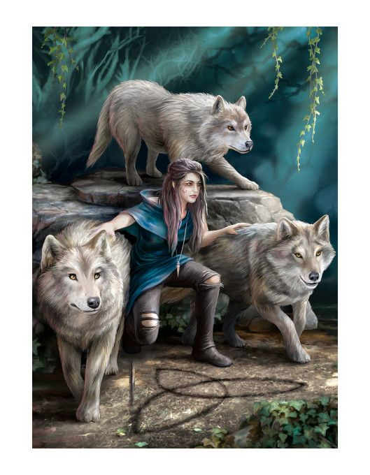 puzzle The Power of Three Anne Stokes