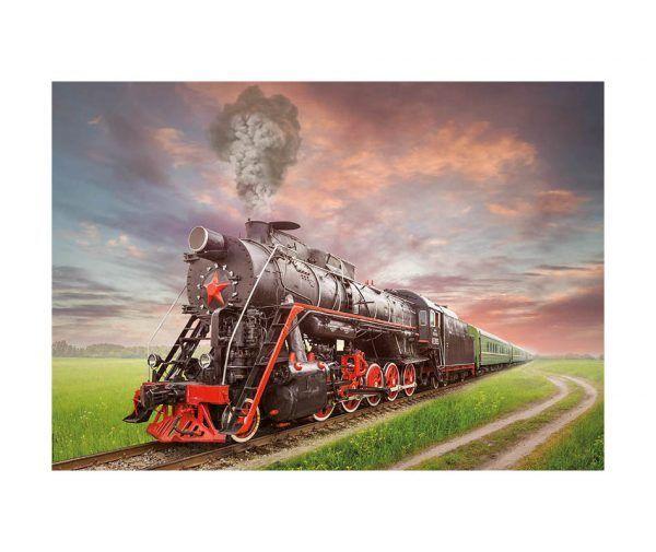 educa Locomotora de Vapor puzzle