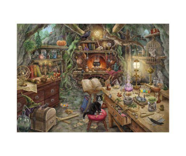 Escape Puzzle Ravensburger Cocina de la Bruja