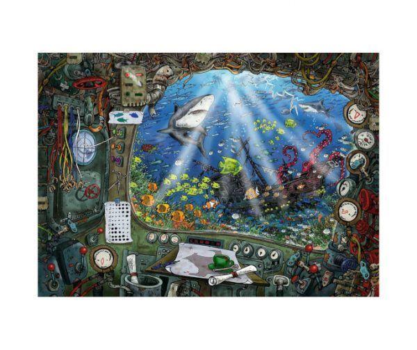 Escape Puzzle Ravensburger Submarino