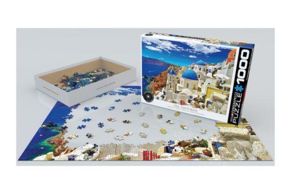 Eurographics Oia Santorini puzzle