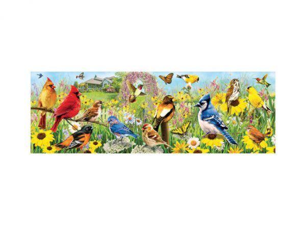 Eurographics puzzle Pájaros de Jardín