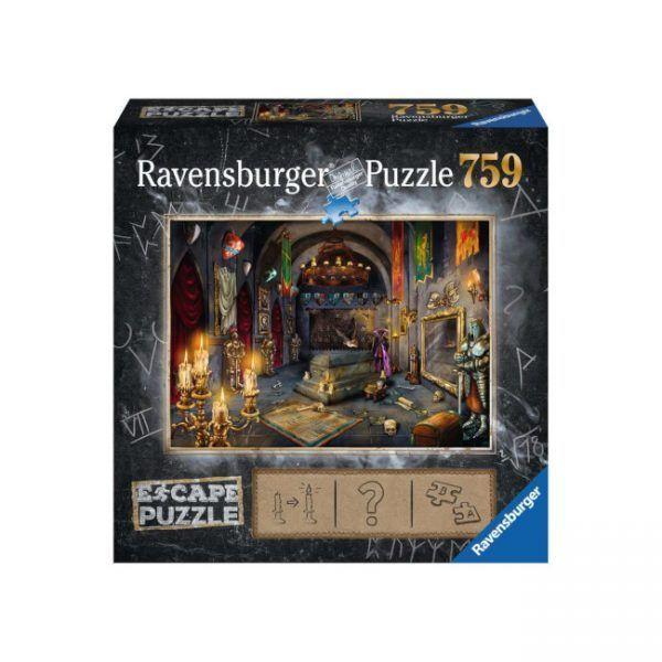 Ravensburger Escape Puzzle Castillo del Vampiro