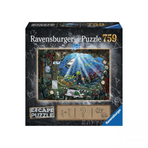 Ravensburger Escape Puzzle Submarino