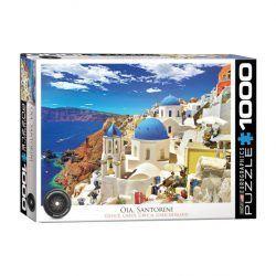 puzzle Eurographics Oia Santorini