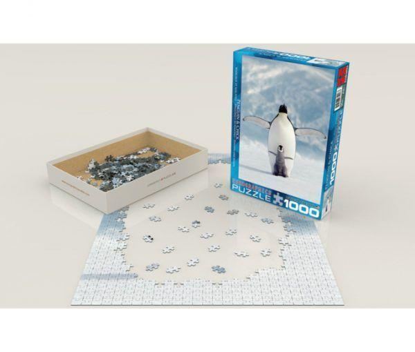 puzzle Eurographics Pingüino y su Polluelo