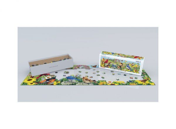 puzzle Pájaros de Jardín
