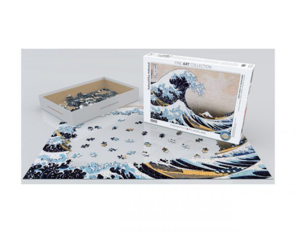 puzzle The Great Wave de Kanagawa