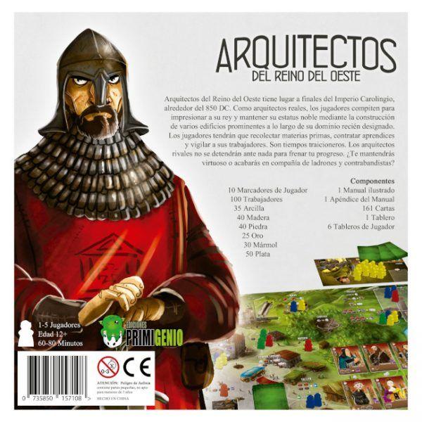 Arquitectos del Reino del Oeste juego