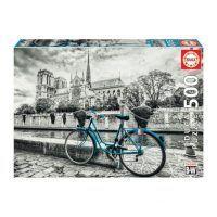 Educa Bicicleta cerca de Notre Dame