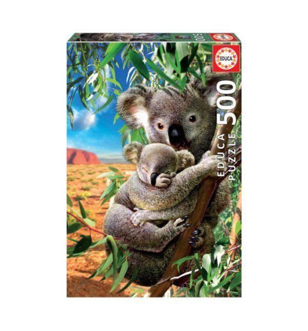 Educa Koala con su Cachorro