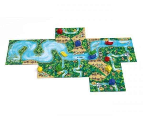 juego Carcassonne Amazonas