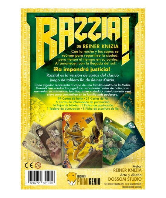juego Razzia