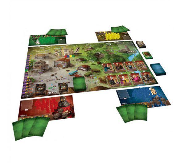 juego de mesa Arquitectos del Reino del Oeste