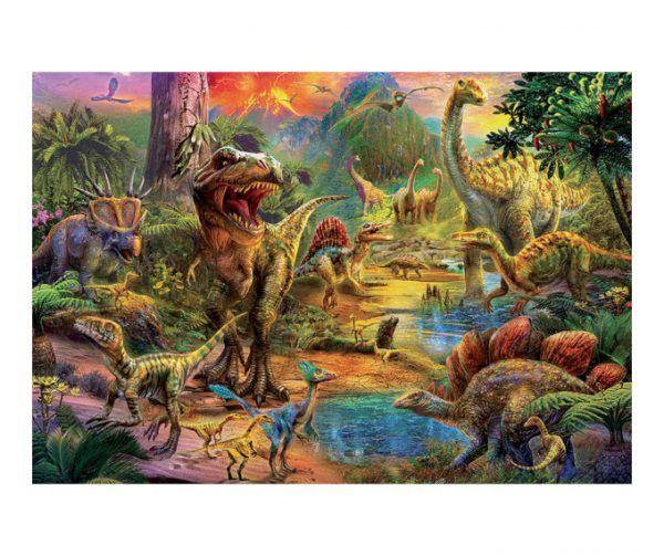 puzzle Educa Tierra de Dinosaurios