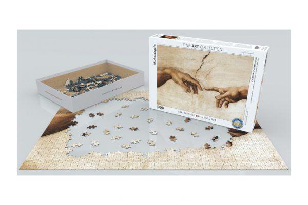 puzzle Eurographics La Creación de Adán
