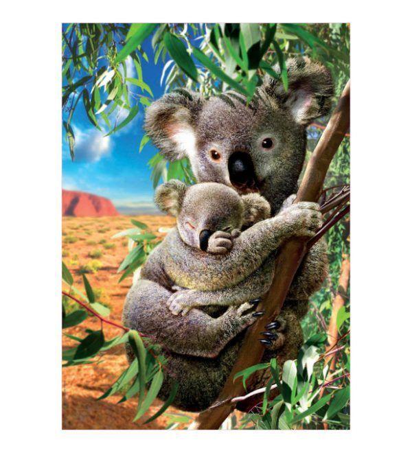 puzzle Koala con su Cachorro