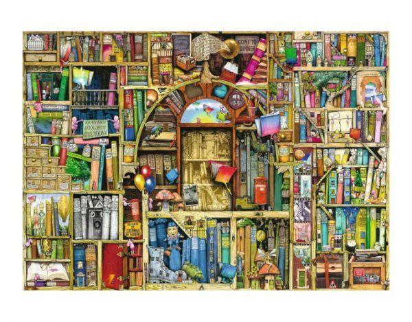 puzzle La Biblioteca Mágica 2