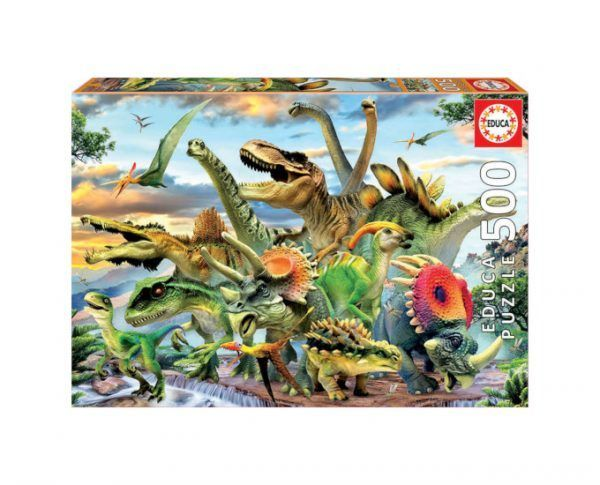 Educa Dinosaurios 500