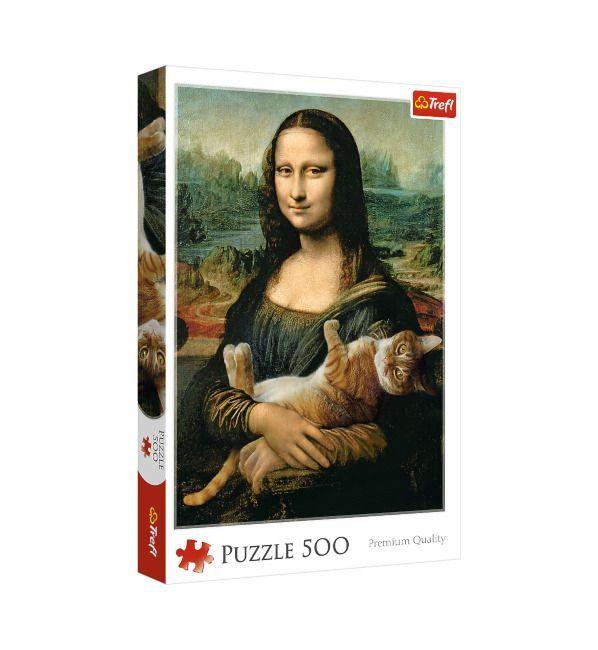 Trefl Mona Lisa y Gato