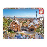 puzzle Educa Vista de Barcelona desde el Parque Güell