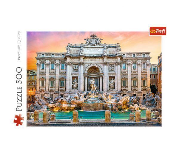 puzzle Trefl Fontana di Trevi