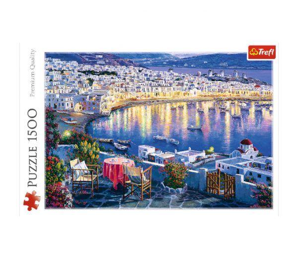 puzzle trefl Mykonos al Atardecer