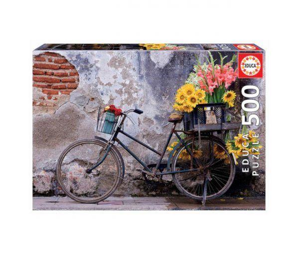 Educa Bicicleta con Flores