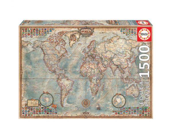Educa Mapa político el mundo