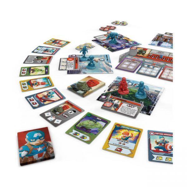 juego de mesa Marvel United