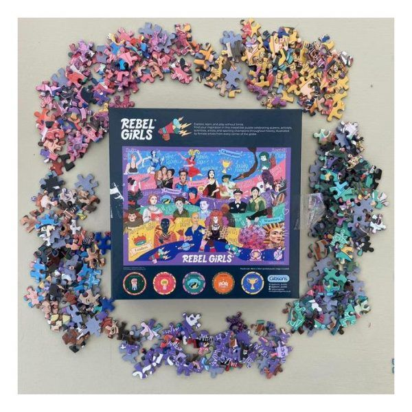 Gibsons Rebel Girls puzzle