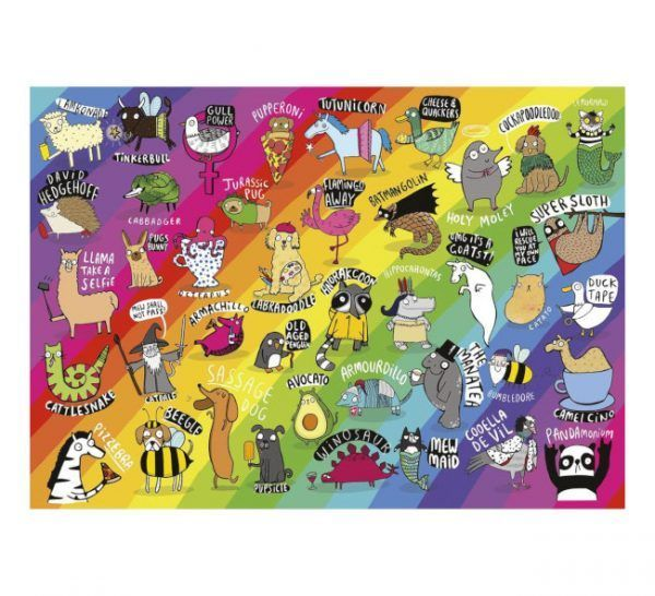gibsons puzzle Punimals