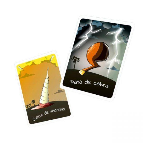 juego de cartas pata de cabra