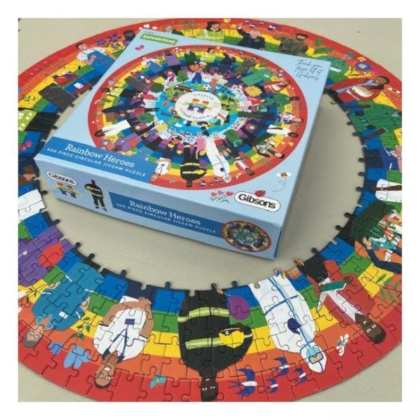 puzzle Gibsons Rainbow Heroes