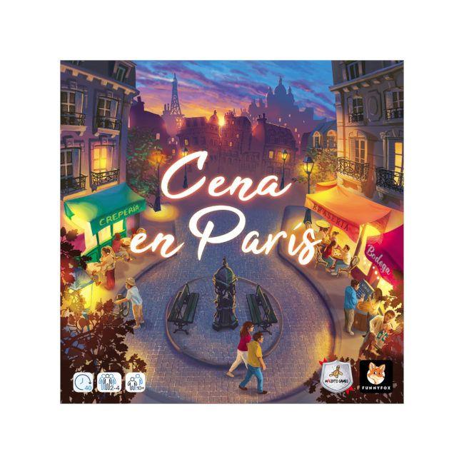 Cena en París juego de mesa