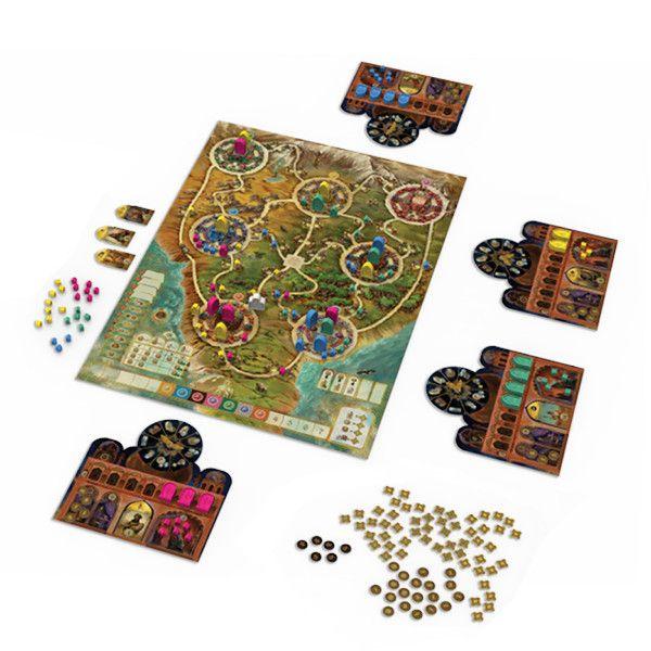juego de mesa Maharajá