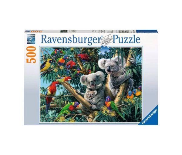 Ravensburger Koalas en el árbol