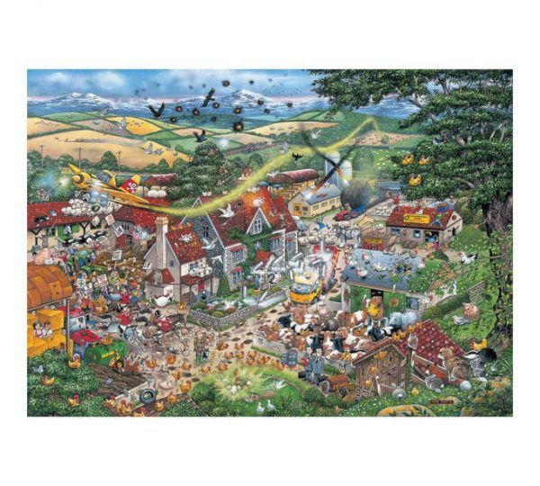 puzzle Gibsons I Love La Granja