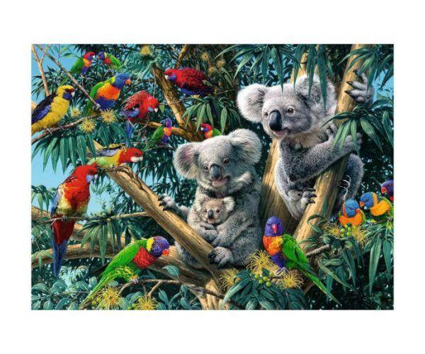 puzzle Ravensburger Koalas en el árbol