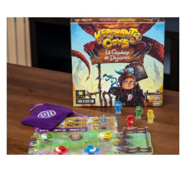 criadora de dragones expansion