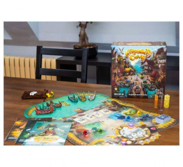 merchants cove juego de mesa