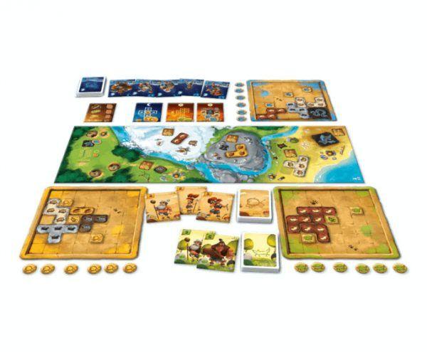tablero juego prehistorias