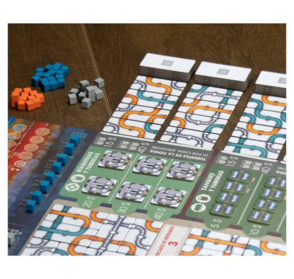 juego de mesa pipeline