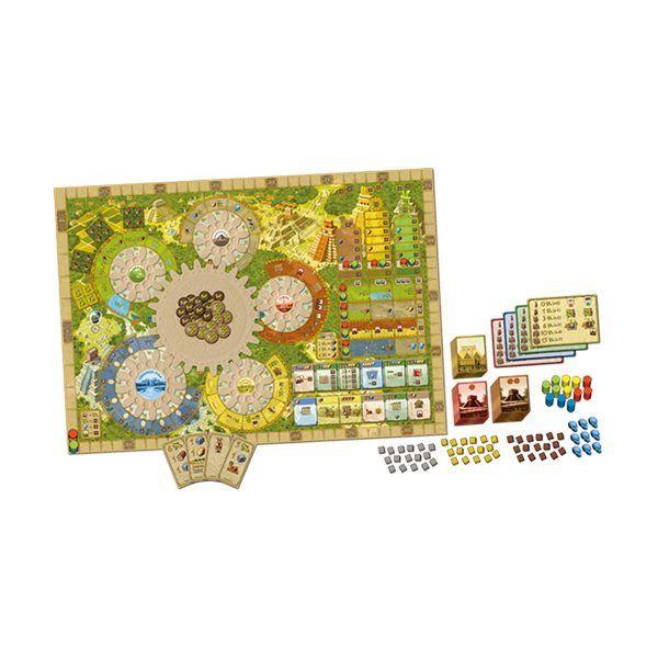tablero tzolkin juego