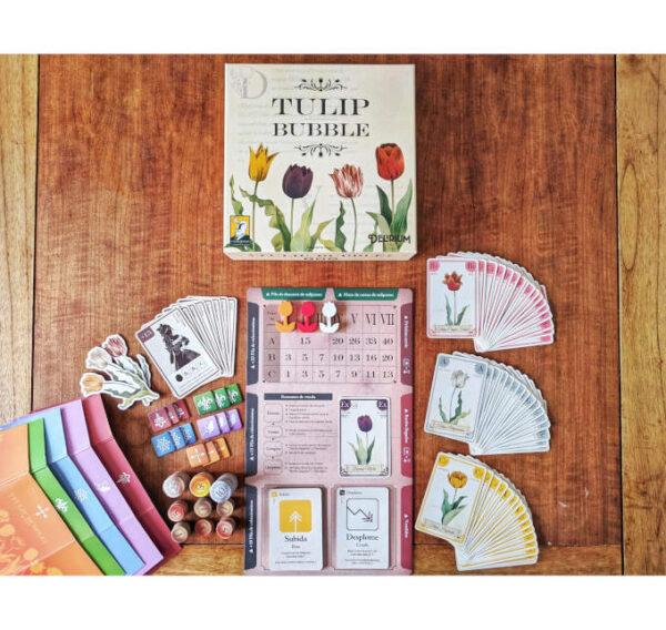 Tulip Bubble juego de mesa